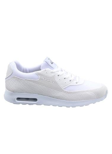 Kinetix Erkek Beyaz Günlük Spor Ayakkabı Beyaz